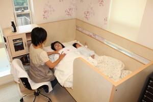 いわはな助産院 母乳育児相談室の相談室風景